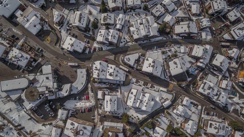 въздушна фотография дрон