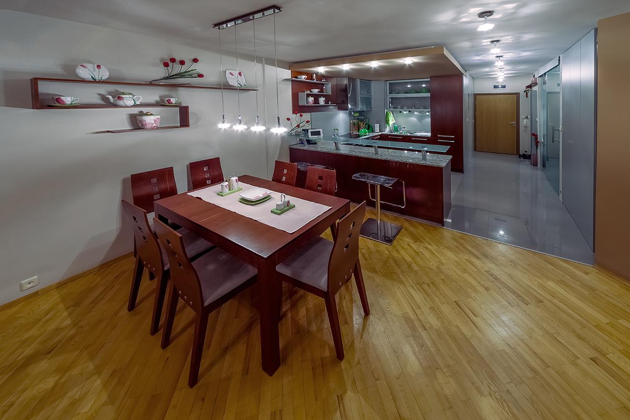 Професионална фотография интериорен дизайн - апартамент всекидневна